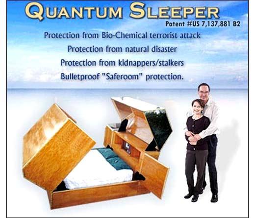 Жуткого вида кровать существует в единственном экземпляре.