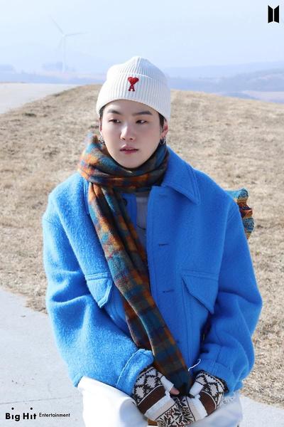 Фото №15 - Снежные ангелы: Big Hit Entertainment выложил 65 новых фото BTS 😍