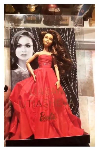 Фото №1 - Mattel выпустила Барби с внешностью Ляйсан Утяшевой