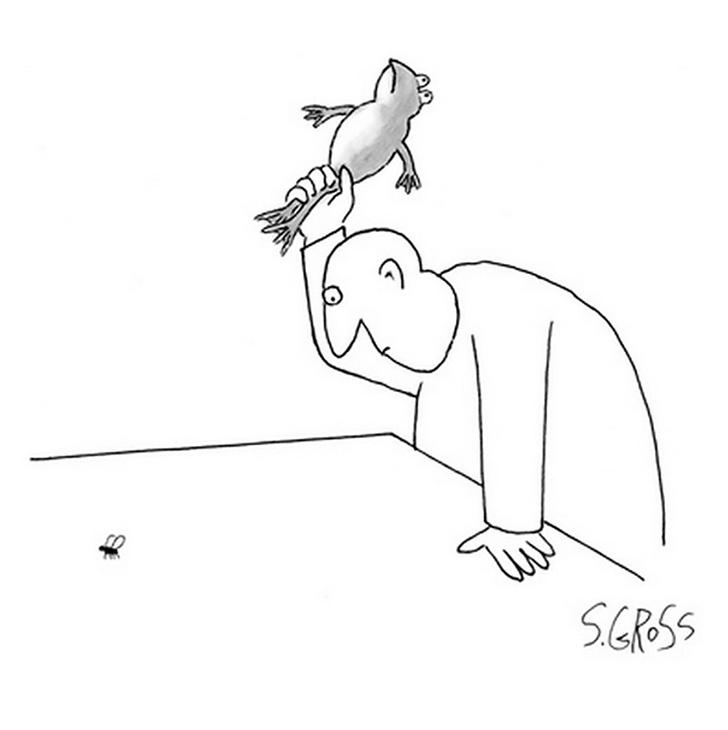 Фото №1 - 26 карикатур Сэма Гросса— самого смешного карикатуриста Нью-Йорка