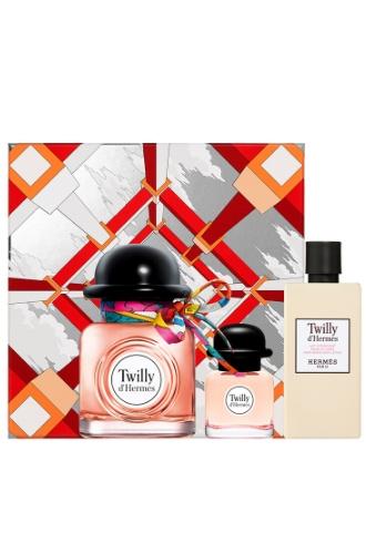 Праздничный набор Twilly d'Hermès в подарочной упаковке Fêtes en Hermès