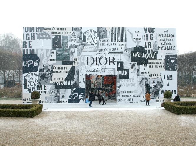 Фото №2 - 5 трендов из 60-х, которые возвращаются в коллекции Dior FW18-19