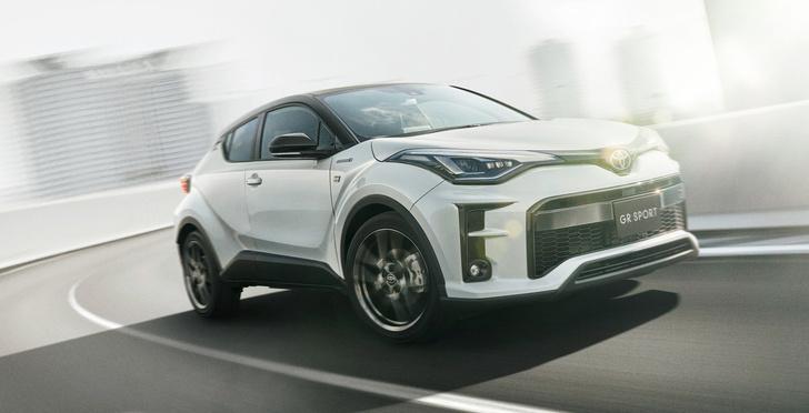 Фото №1 - Сразу три новинки от Toyota: две серийные, одна гоночная