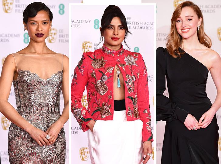 Фото №1 - BAFTA 2021: самые стильные звезды на красной дорожке церемонии