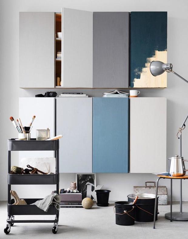 Фото №14 - Три товарища: новый стильный облик старых шкафов ИКЕА