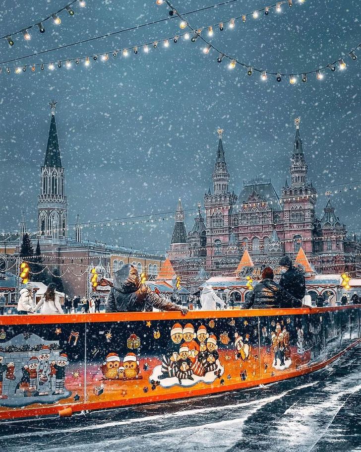 Фото №1 - Где кататься на лыжах и коньках в Москве