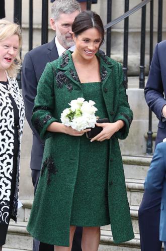 Фото №23 - Стильная беременность Меган Маркл: главные модные предпочтения герцогини