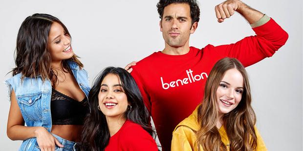 Фото №2 - Саша Спилберг стала лицом бренда Benetton Perfumes