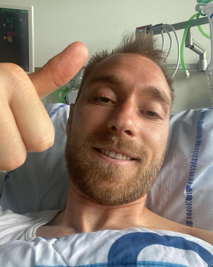 Фото №1 - Переживший остановку сердца во время матча Кристиан Эриксен рассказал о своем самочувствии