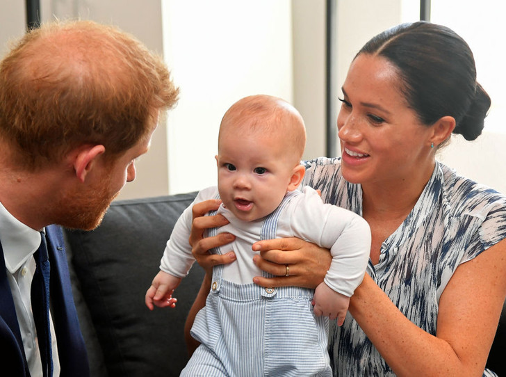 Фото №1 - Арчи Сассекскому – 6 месяцев: каким растет сын Гарри и Меган