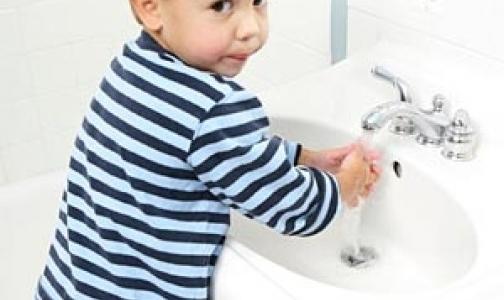 Фото №1 - Чистые руки уберегут от гриппа