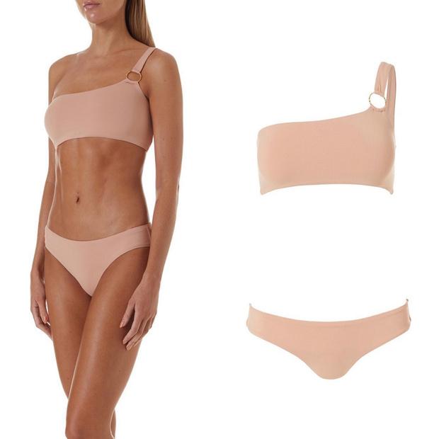 Фото №2 - Nude summer: Ева Лонгория в купальнике Melissa Odabash под цвет загара