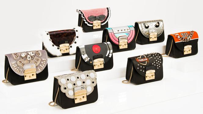Фото №1 - Старт продаж новых сумок Metropolis эксклюзивно к юбилею Furla