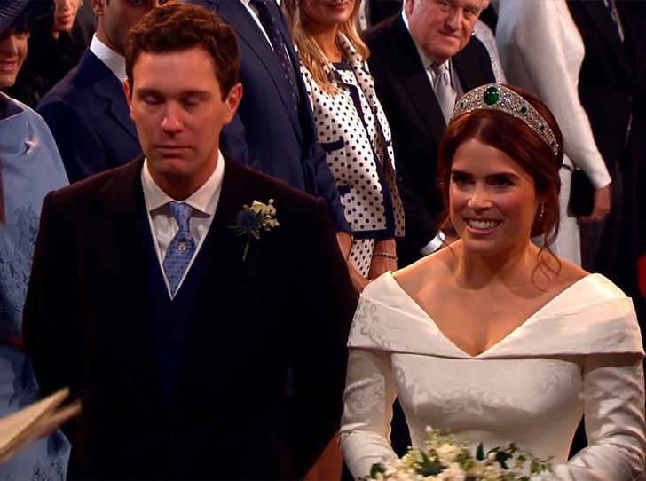 Фото №59 - Свадьба принцессы Евгении и Джека Бруксбэнка