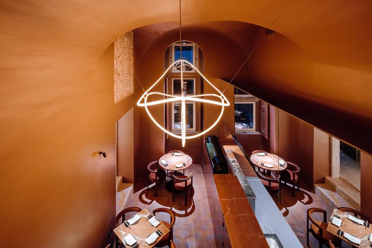 Фото №6 - Ресторан Nómada в терракотовых тонах
