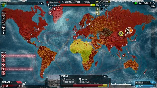 Фото №1 - В игре про глобальную пандемию Plague Inc. появится режим борьбы с вирусом