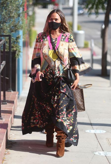 Крисси Тейген в Лос-Анджелесе