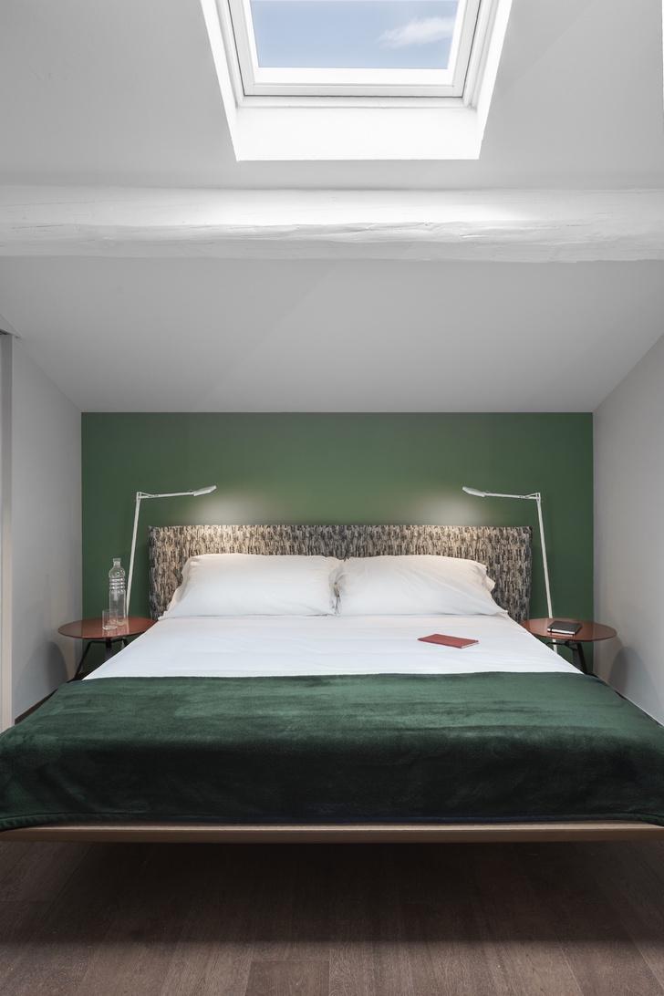 Фото №10 - Современная двухуровневая квартира во Флоренции