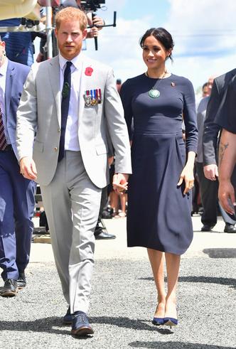 Фото №215 - Все наряды первого зарубежного тура Меган Маркл в Австралию и Новую Зеландию
