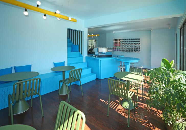 Фото №3 - Голубое кафе Tipico Coffee в Буффало