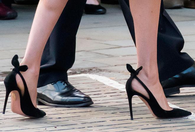 Фото 21. Эти туфли Меган носит чаще других, а все потому, что найти обувь по типажу не так просто!