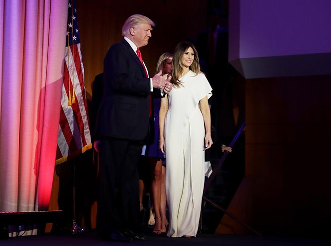 Фото №6 - Рождение fashion-звезды: Мелания Трамп на инаугурации