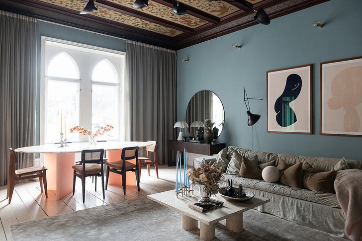 Фото №5 - Квартира в доме XIX века в Швеции