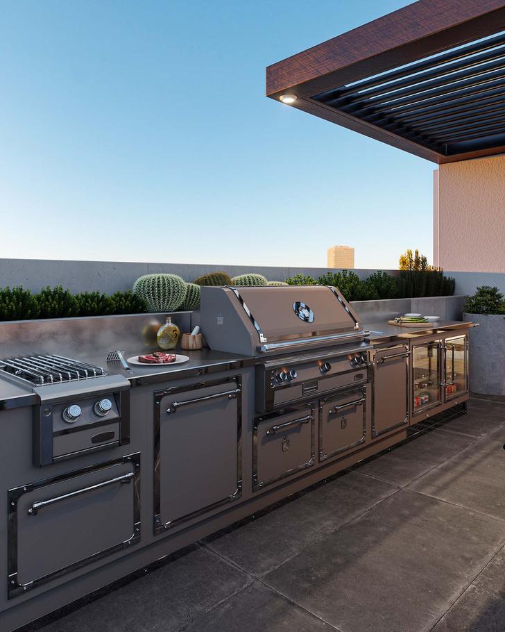 Фото №2 - Новые кухни Officine Gullo для мероприятий на открытом воздухе