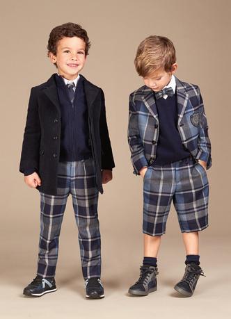 Фото №7 - Модные школьники: детская коллекция Dolce&Gabbana осень-зима 16/17
