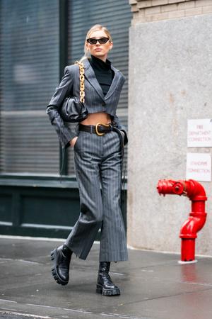 Фото №2 - Стиль Эльзы Хоск: как одевается самая яркая топ-модель новой эпохи