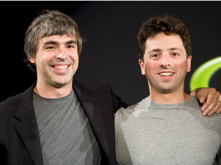 Фото №1 - Конец эпохи: сооснователи Google Ларри Пейдж и Сергей Брин уходят в отставку