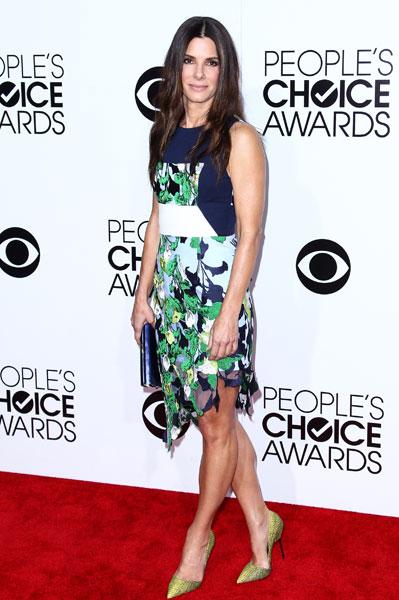 Сандра Баллок на People's Choice Awards 2014