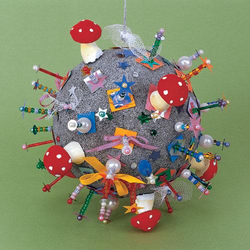 Фото №1 - Мой шар серебряный: своими руками