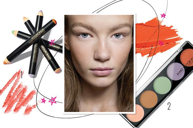 Фото №1 - Beauty-корректоры: какие бывают и как использовать