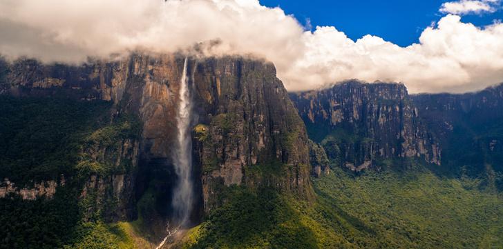 Фото №1 - Какие из достопримечательностей находятся в Венесуэле?