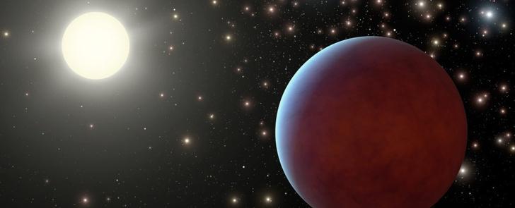 Фото №1 - Обнаружена одна из самых темных планет