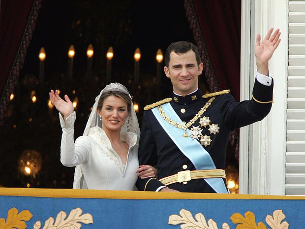 Фото №8 - Какой была свадьба короля Филиппа и королевы Летиции: история в фотографиях