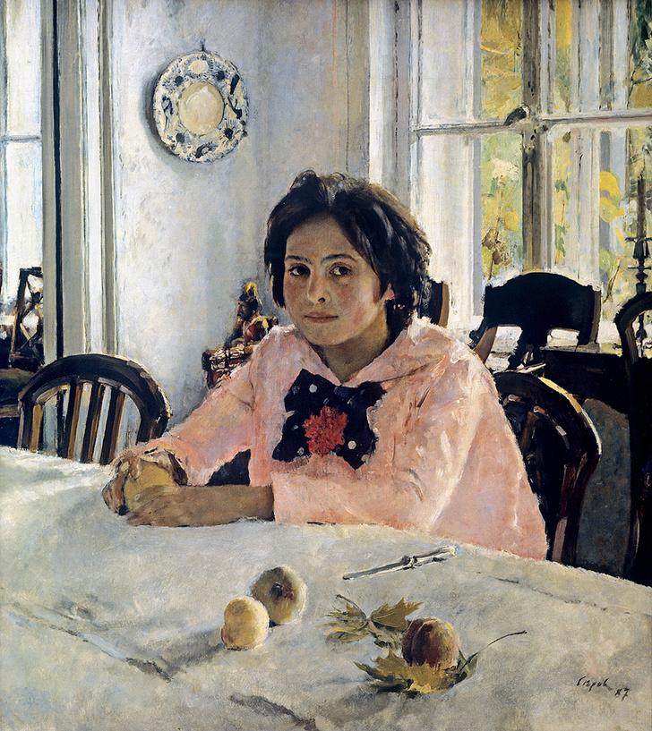 Фото №1 - «Писать только отрадное»: 12 интересных фактов о «Девочке с персиками»