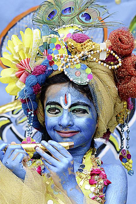 Фото №2 - Традиции: Джанмаштами, Индия