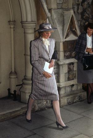 Фото №3 - Стильная гостья: что принцесса Диана носила на чужих свадьбах
