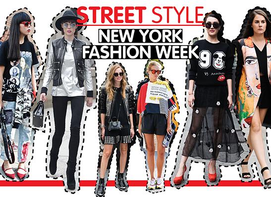 Фото №1 - Street style: Лучшие образы с NYFW
