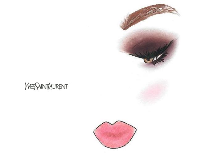 Фото №2 - Праздничный макияж по цвету глаз от визажиста YSL