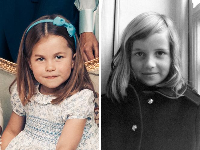 Фото №1 - Глаза Дианы, улыбка Елизаветы: с кем теперь сравнивают принцессу Шарлотту