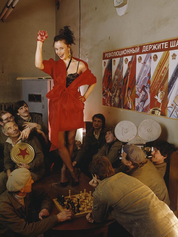 Фото №5 - «Красные звезды перестройки»: популярные советские актрисы в съемке американского фотографа, 1988 год