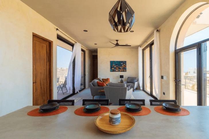Фото №6 - Бетонный дом с видом на океан в Мексике