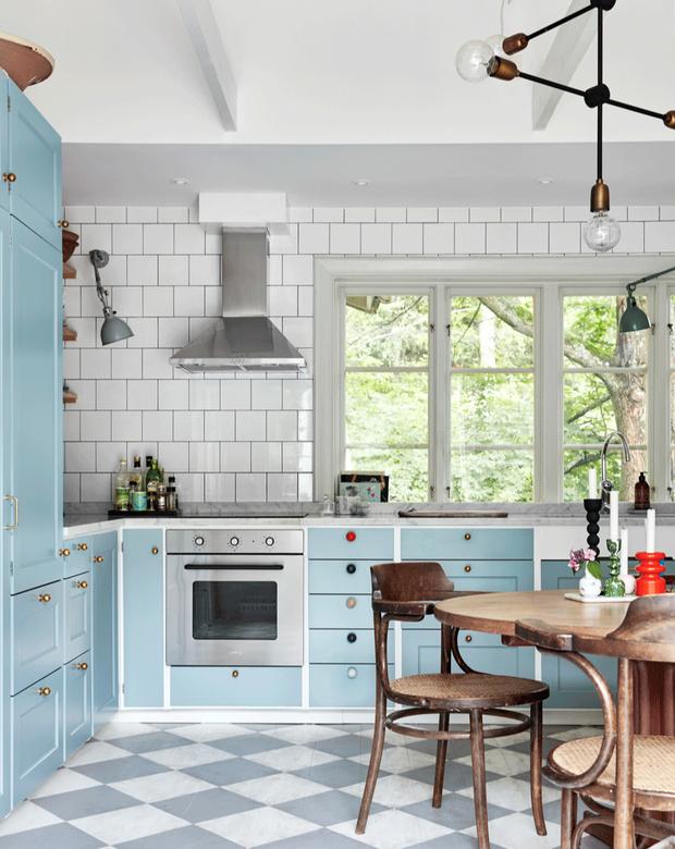 Фото №5 - Тренды 2020: кухня в винтажном стиле