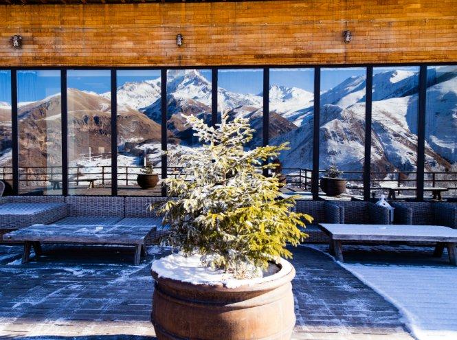 Фото №3 - Новогоднее предложение в Rooms Hotel Kazbegi