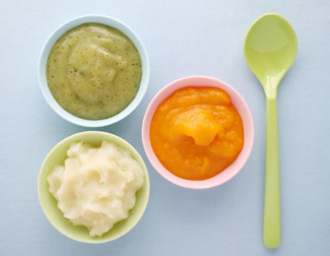 Детское овощное пюре
