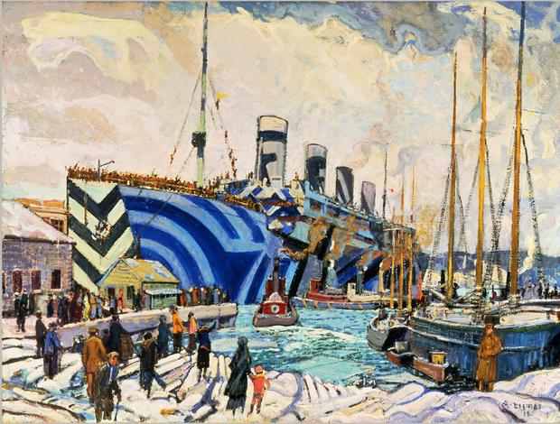 Фото №1 - Ослепляющий камуфляж: окраска британских кораблей во время Первой мировой войны