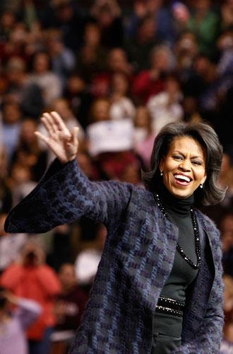 Фото №2 - От супруги президента к модной иконе: эволюция стиля Мишель Обамы